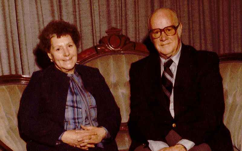 Annabell and Clifford Bollinger