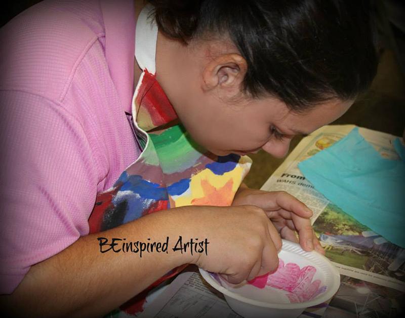 BEinspired Vocational Art Program