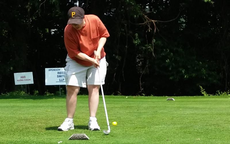 Golfing with Community Activities program